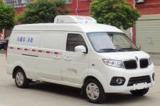 国六蓝牌金杯面包冷藏车,市内专用冷藏车188 7298 8221陈经理厂家直销