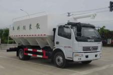 华通牌HCQ5125ZSLEQ6型散装饲料运输车 国六东风大多利卡散装饲料运输车价格13329882498