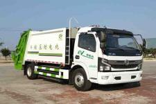 国六东风多利卡8方新能源电动压缩式垃圾车价格13635739799