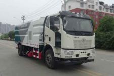 解放J6L洗掃車_12-14方洗掃車高端車型