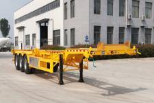 恒通梁山12.4米34.3吨3轴集装箱运输半挂车(CBZ9407TJZ)