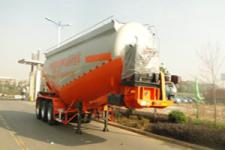 东润9.3米31.6吨3轴中密度粉粒物料运输半挂车(WSH9403GFL)