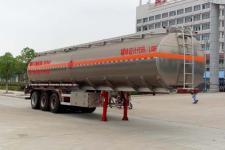 楚飞12米32吨3轴铝合金运油半挂车(CLQ9400GYYA)