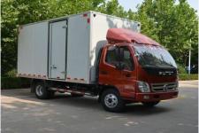 福田奥铃国五单桥厢式运输车110-231马力5吨以下(BJ5049XXY-B1)