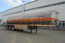 运力12.6米33.1吨3轴铝合金运油半挂车(LG9406GYY)