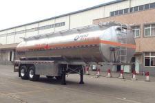 运力11.1米29.6吨2轴铝合金运油半挂车(LG9354GYY)