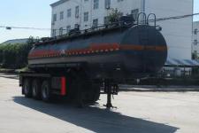 特运10米30.5吨3轴腐蚀性物品罐式运输半挂车(DTA9405GFW)