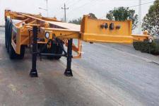 中集9.4米34.3吨危险品罐箱骨架运输半挂车