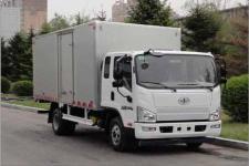 一汽解放轻卡国五单桥厢式运输车109-208马力5吨以下(CA5046XXYP40K2L1E5A84-3)