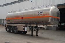 运力11.7米33.4吨3轴铝合金运油半挂车(LG9400GYYA)