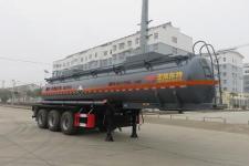 特运9.9米31.8吨3轴腐蚀性物品罐式运输半挂车(DTA9406GFWB)
