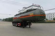 特运10.6米33吨3轴腐蚀性物品罐式运输半挂车(DTA9407GFWA)
