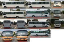 華新牌HM6733LFD5X型客車圖片3