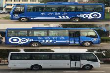 華新牌HM6733LFD5X型客車圖片4