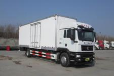 重汽汕德卡国五单桥厢式运输车239-458马力5-10吨(ZZ5186XXYN711GE1)