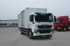 豪沃牌ZZ5187XXYK501GE1型厢式运输车