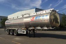 昌骅10.8米33.8吨3轴润滑油罐式运输半挂车(HCH9401GRH40)