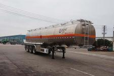 运力11.2米33.1吨3轴铝合金运油半挂车(LG9404GYYA)