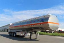 陆平机器12.8米33吨3轴铝合金运油半挂车(LPC9407GYYSA)