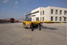 锣响7.3米31.5吨2轴集装箱运输半挂车(LXC9350TJZ)