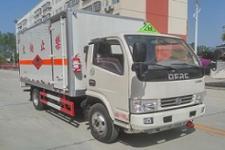 国五东风多利卡易燃液体厢式运输车