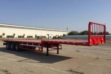 昌骅13米33.7吨3轴平板半挂车(HCH9401P)