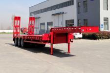 梁山宇翔12.5米30.9吨3轴低平板半挂车(YXM9400TDP)