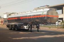 天威缘12米33吨3轴铝合金运油半挂车(TWY9402GYYL)