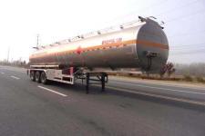 龙星汇12.1米33吨3轴铝合金运油半挂车(HLV9400GYYD)