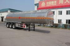 绿叶12.1米33.5吨3轴铝合金运油半挂车(JYJ9404GYY)