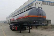 特运10.8米32吨3轴腐蚀性物品罐式运输半挂车(DTA9405GFWD)