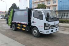 国六 东风多利卡5方压缩式垃圾车