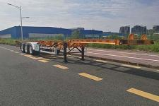 中集14米35.3吨3轴危险品罐箱骨架运输半挂车(ZJV9404TWYSZ)