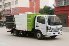 东风国六吸尘车厂家指导价 吸尘车最低价格