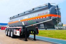 中集10.5米32.4吨3轴腐蚀性物品罐式运输半挂车(ZJV9404GFWJM)