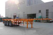 锣响12.4米34.2吨3轴集装箱运输半挂车(LXC9402TJZ)