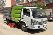 国六东风多利卡CLW5071TSL6型扫路车
