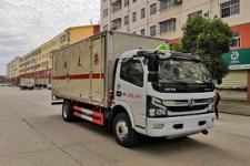程力威牌CLW5120XZWE6型杂项危险物品厢式运输车价格