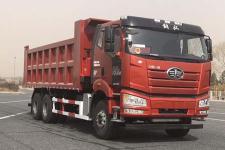 解放牌CA3250P66M25L2T1E6型平头天然气自卸汽车图片