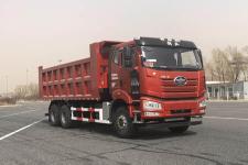 解放牌CA3250P66M25L4T1E6型平头天然气自卸汽车图片
