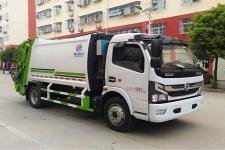 国六东风多利卡压缩式垃圾车厂家直销价格