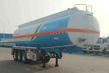 中集10.8米33.9吨3轴铝合金运油半挂车(ZJV9404GYYJMA)