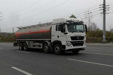 国六重汽豪沃30方铝合金易燃液体罐式运输车多少钱一辆?