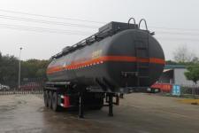 特运11.4米31.5吨3轴腐蚀性物品罐式运输半挂车(DTA9408GFWA)