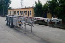 恒通梁山12.4米36.2吨3轴铝合金集装箱运输半挂车(CBZ9408TJZ)