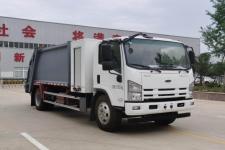 五十鈴新能源純電動壓縮式垃圾車