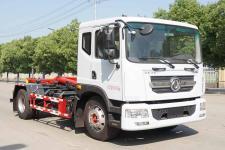 国六东风多利卡D9勾臂式垃圾车多少钱一辆13329882498