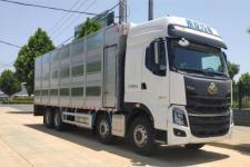 国六柳汽乘龙前四后八畜禽运输车多少钱厂家直销价格13329882498