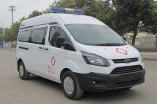 国六福特新全顺v362汽油版救护车厂家直销