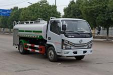 国六东风多利卡5吨绿化喷洒车/消防洒水车